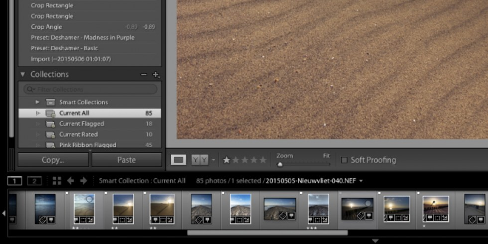 Using Smart Collections to improve your Lightroom Workflow